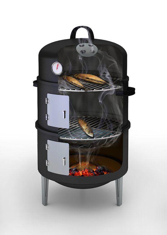 Barbecook Rookoven - Zwart