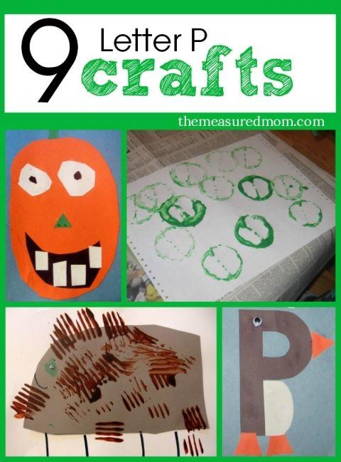 9 letter P crafts