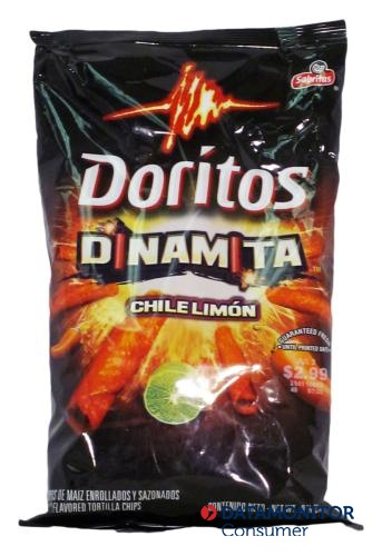 Add some spice to your snacking with Dinamita Doritos in USA