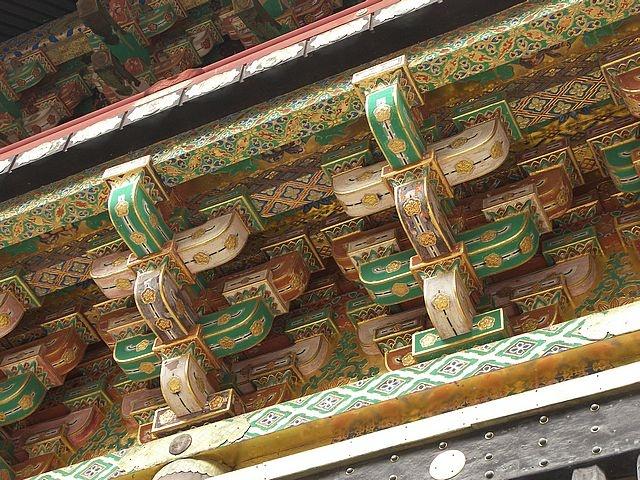 Japon mimarisi çati boyali