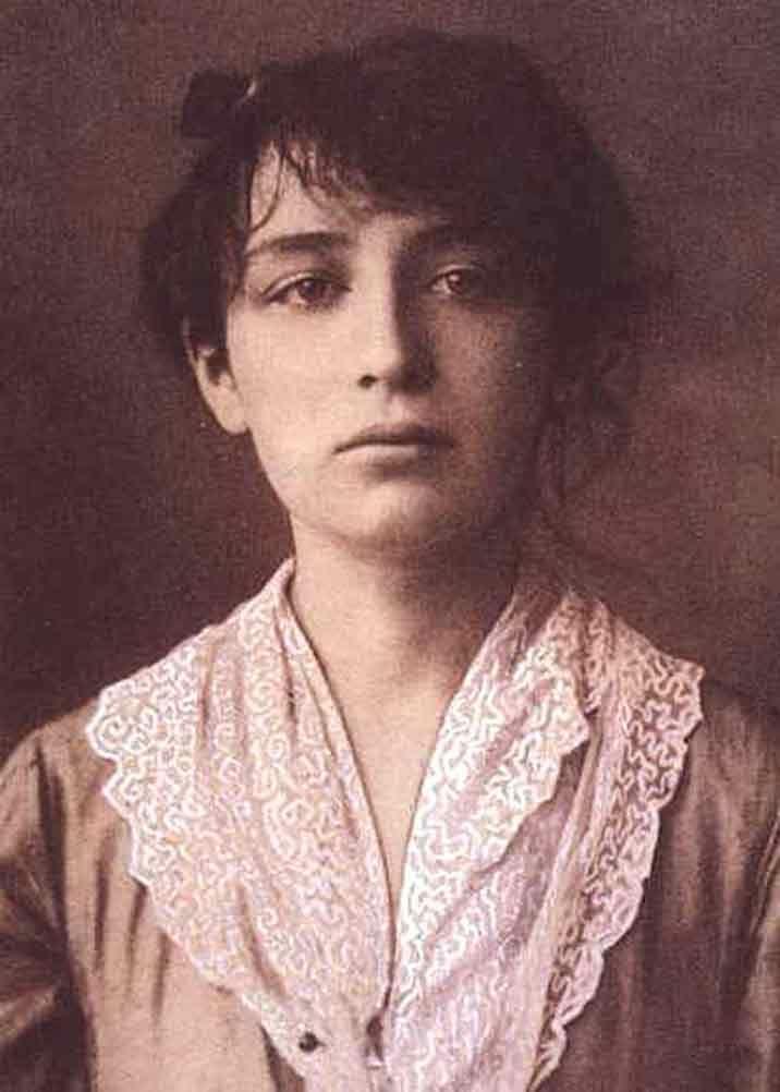 Una giovane Alda Merini. Google search.