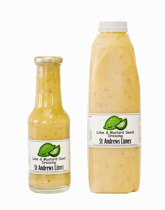 St Andrews Limes — Lime and Mustard Seed Dressing