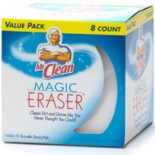 Seriously.... I love the Magic Eraser.  It can clean ANYTHING!