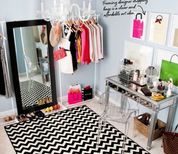 Turn A Bedroom Into A Closet: Turn A Spare Room Into A Closet @Luuux