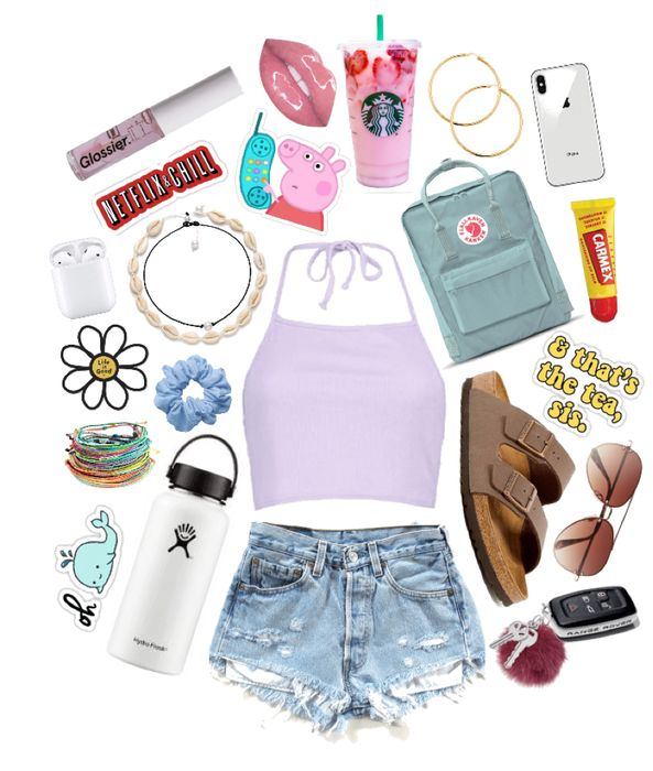 basic vsco girl Outfit | ShopLook  #vscogirl #vscooutfit #Vscostyle #summeroutfi…