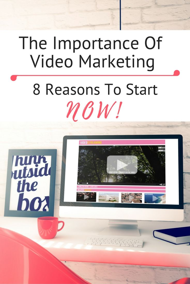 The Importance of Video Marketing - 8 Reasons To Start NOW! / Video Marketing / Video Marketing Tips / Video Marketing Ideas / YouTube Marketing / YouTube Marketing Strategy / YouTube Marketing Tips YouTube Marketing Ideas / YouTube Marketing Strategy / Social Media Marketing / Social Media Marketing Strategy /
