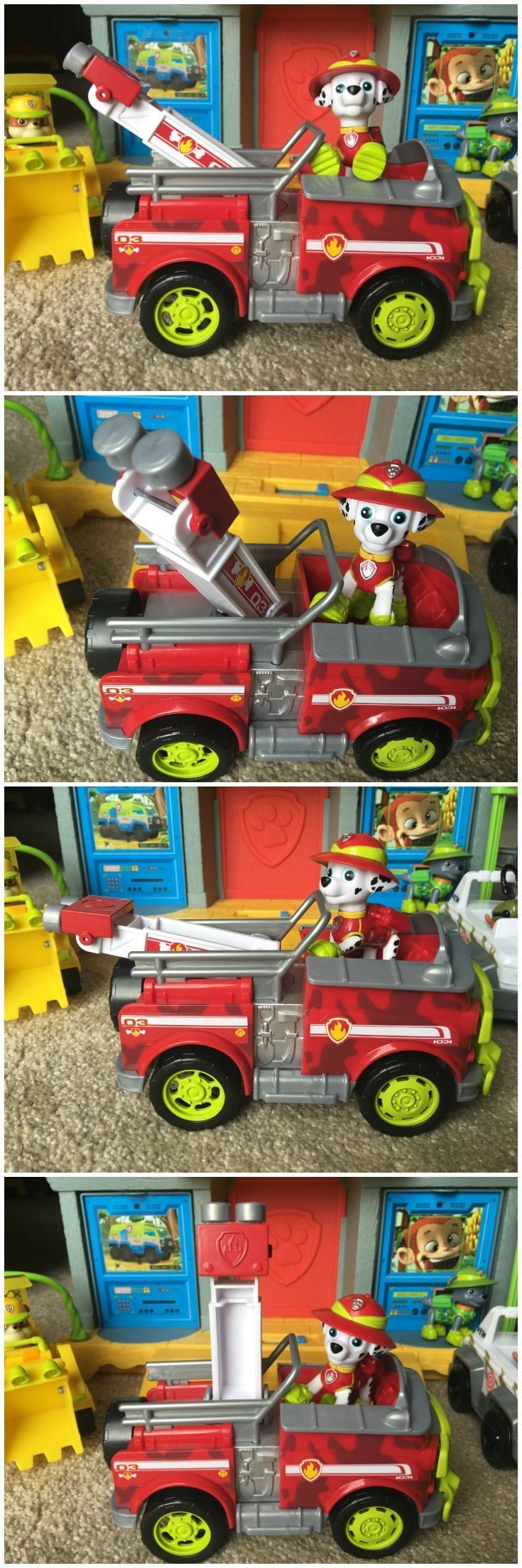 Paw Patrol Jungle Rescue Marshall Toy