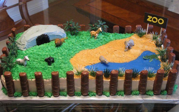Zoo Cake!