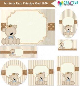 Festa Urso príncipe mod:1050