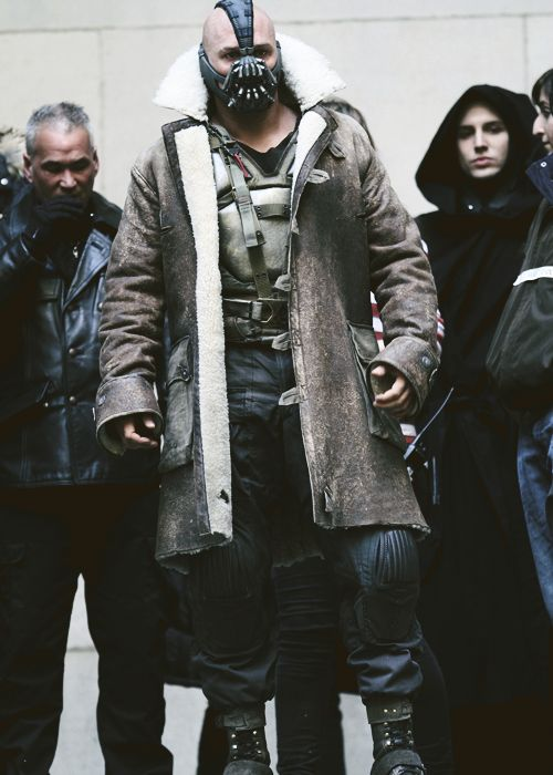 The Dark Knight Rises :Tom Hardy as Bane: Batman's Arch Nemesis