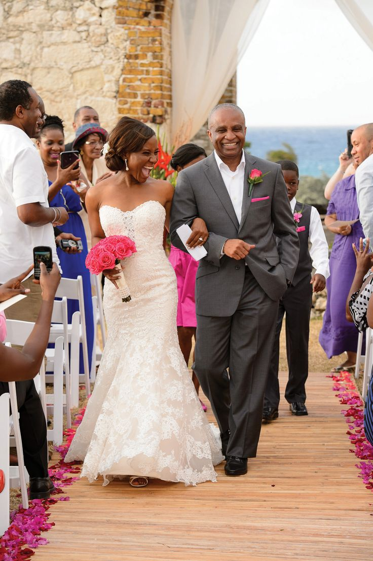 Inside Erica Bryant's wedding in Jamaica! Gorgeous gown ...