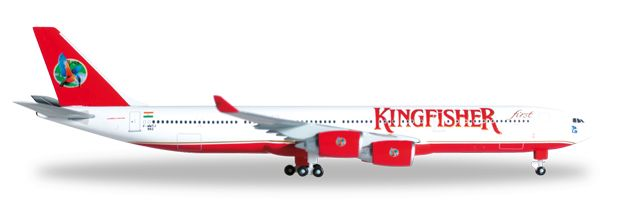 1/500 Herpa Kingfisher Airlines Airbus A340-500