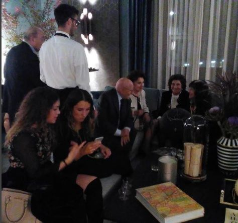 Great success at the party @ casamilano showroom in downtown Milan organized in collaboration with Marie Claire Maison Italia