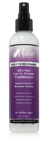The Mane Choice - Give It To Me Straight Silk & Shine Leave-In Detangler