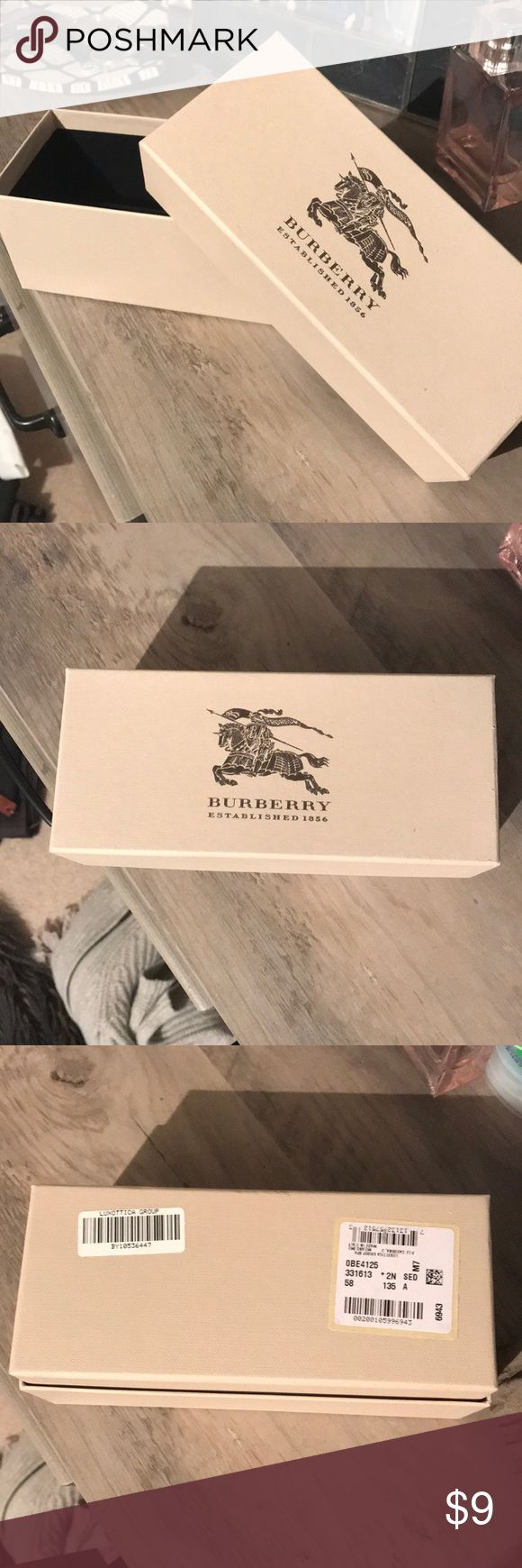 Burberry glasses gift box Burberry glasses gift box Burberry Other