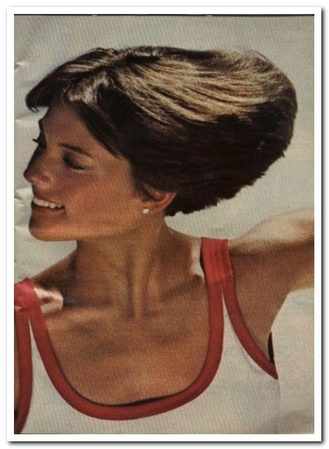 Dorothy Hamill Wedge Haircut From The 1970s The dorothy hamill haircut ...