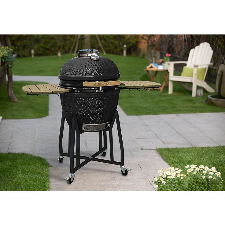 Vision Grills Classic Kamado Ceramic Charcoal Grill