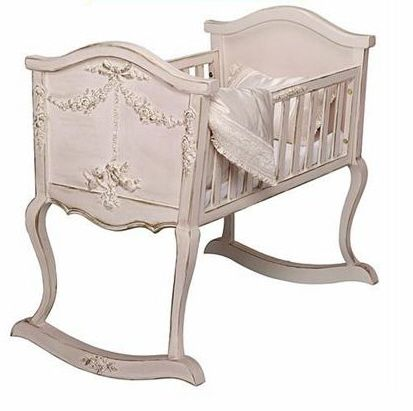 Stylish Nursery Furniture: Bonne Niut Baby Cradle and Toy Chest