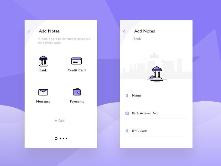 Add Notes (PassSafe app)