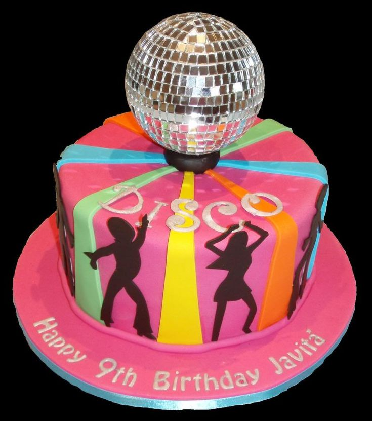 Disco Party Cake Images : 17 Best images about Disco dance party birthday on ...