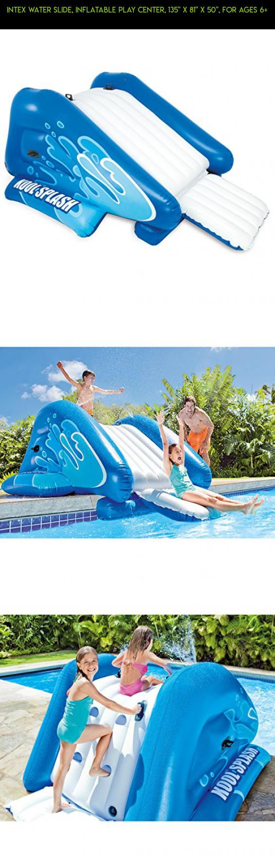 Intex Water Slide Inflatable Play Center