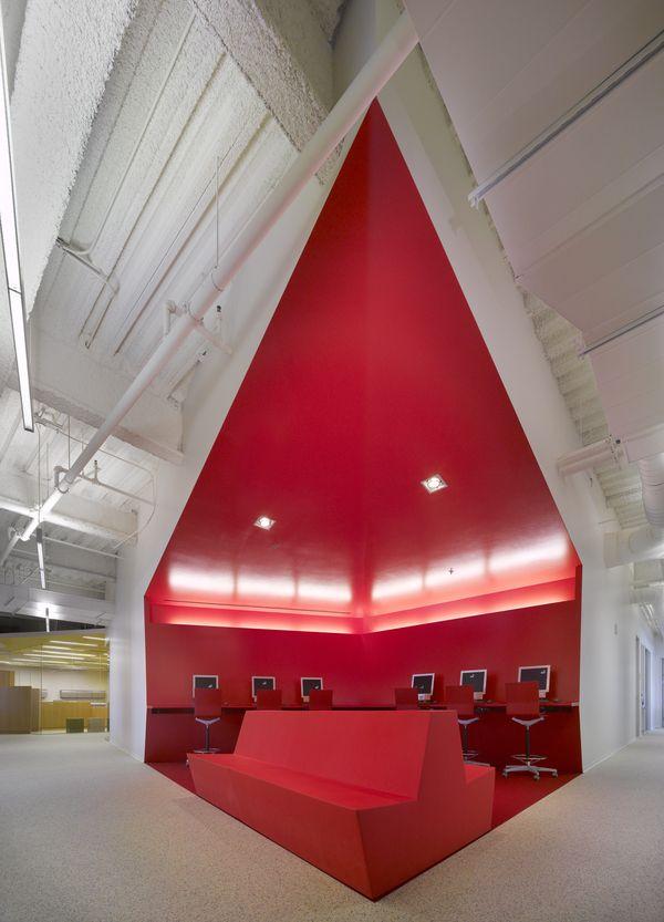FIDM San Diego Campus By Clive Wilkinson Architects Via Behance Interior Design SchoolsCommercial