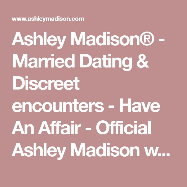 Official ashley madison list