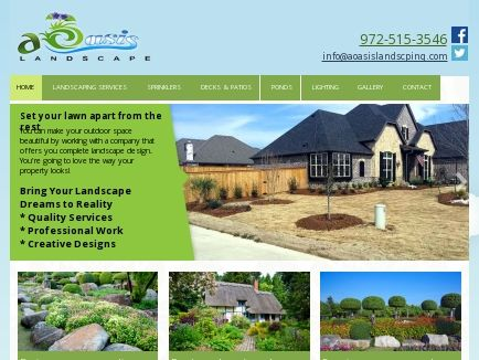 A Oasis Landscaping