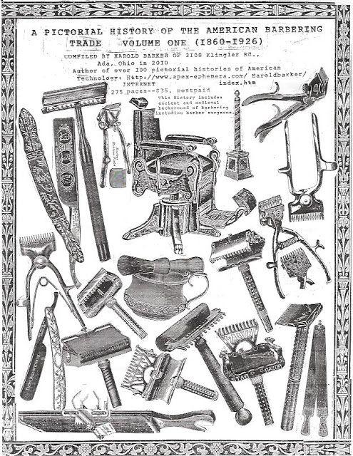 Antique Barber Equipment
