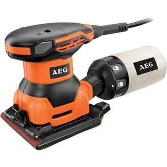 AEG 1/4 SHEET SANDER, 260W, FS140