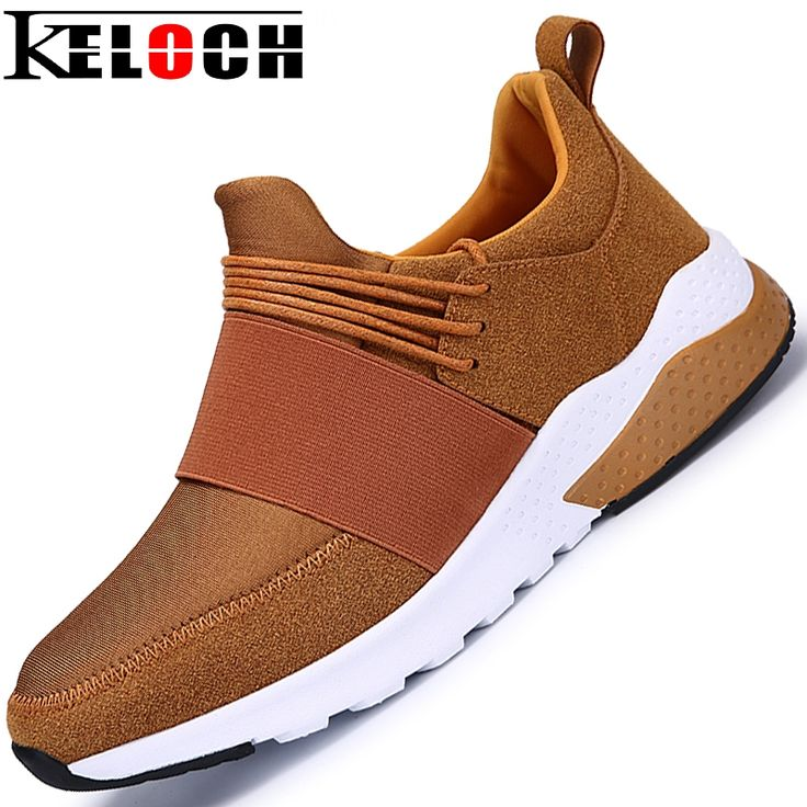 23.64$  Buy now - http://alignh.shopchina.info/go.php?t=32767021719 - Keloch New Arrive Men Running Shoes Male Stretch Fabric & Suede Sport Shoes Walking Sneakers Men Zapatillas Deportivas Hombre 23.64$ #aliexpresschina