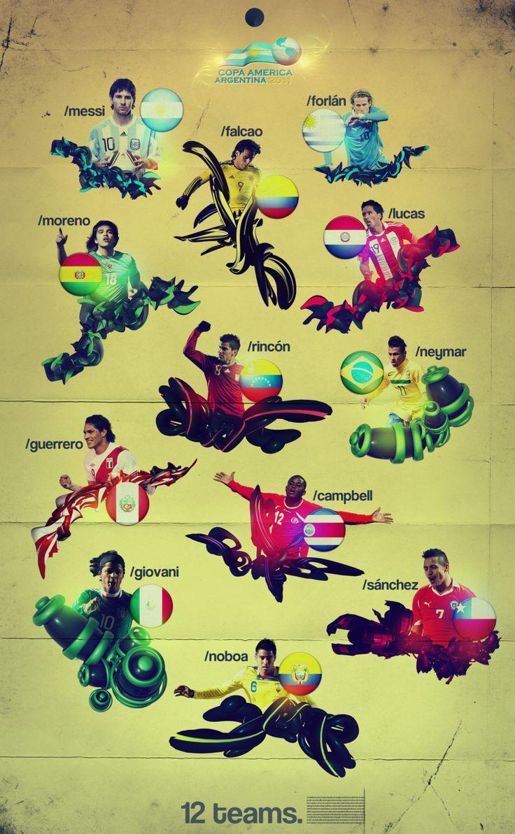 Copa America 2011 by mariotullece.deviantart.com on @deviantART