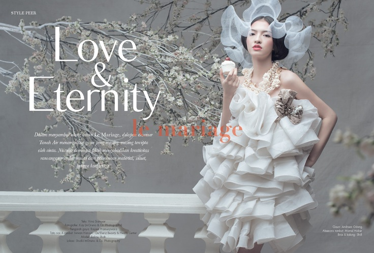 le mariage fashion cover January-March 2013 photo by Kay mOreno