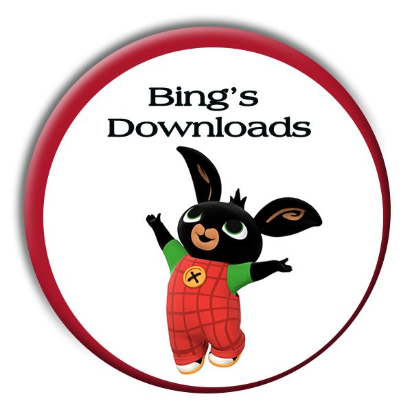 Did you know that there are loads of free Bing Bunny downloads available? Tons of fun, rainy-day activities for your Bingster to enjoy.