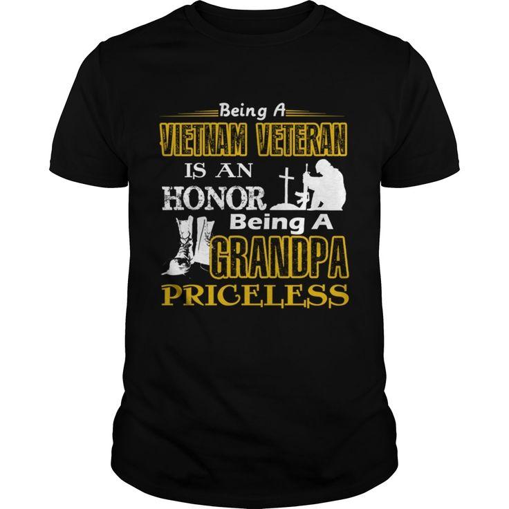 Vietnam Veteran Is An Honor Being A Grandpa Pricel Papa Mama Men Women Dogs Lovers HoodieVietnam Vet