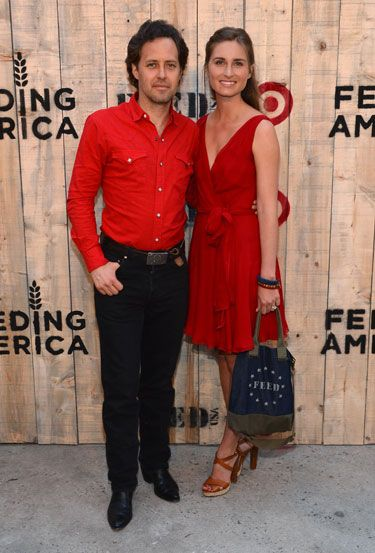 Target and Lauren Bush Lauren Celebrate FEED USA Collaboration - David Lauren and Lauren Bush Lauren