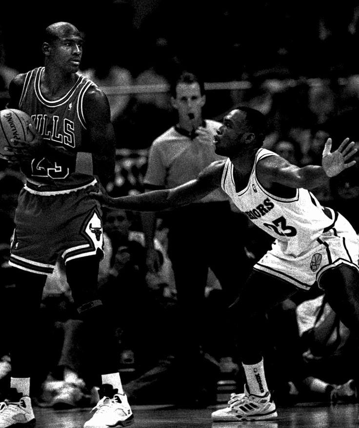 Michael Jordan & Mitch Richmond