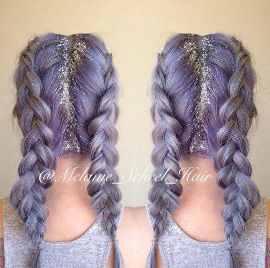 Silver Lilac Fairy Dust - Step Up Your Sparkle Game With Glitter Roots - Photos