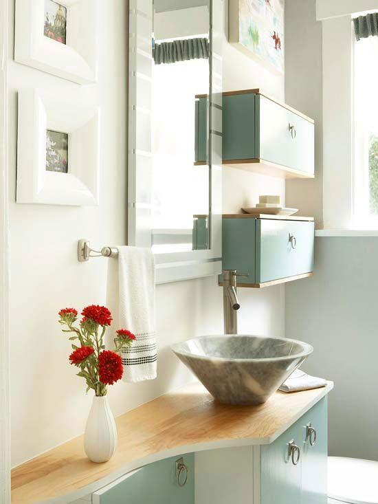 Les 60 meilleures images à propos de Small Bathroom Ideas sur