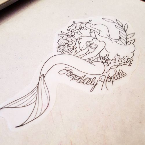 Your hopless child Ariel tattoo for £80 full colour email me to book prettygrotesquetattoosuk@gmail.com #tattoo #tattoos #tattoodesign #tattoodesigns #wolverhampton #birmingham #disney #disneytattoo #disneytattoos #ariel #littlemermaid #arieltattoo...