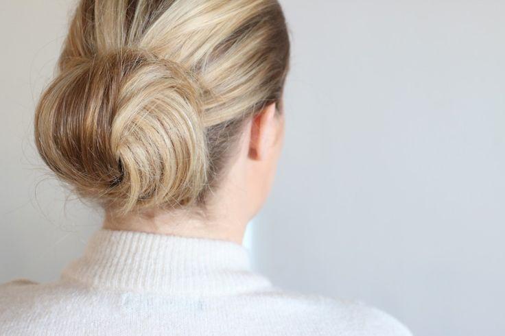 Elegant hårknut