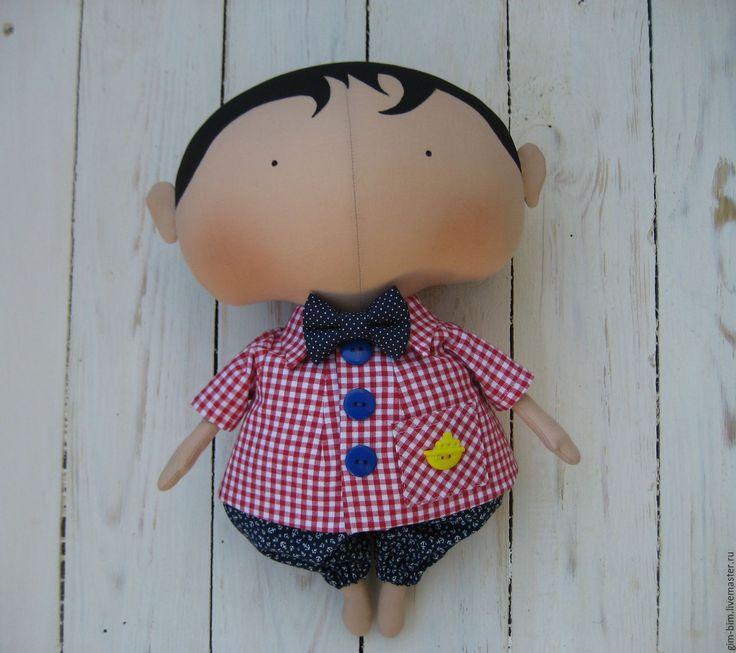 Купить Sweetheart Doll ( Милая кукла) мальчик+девочка - ярко-красный, тильда кукла