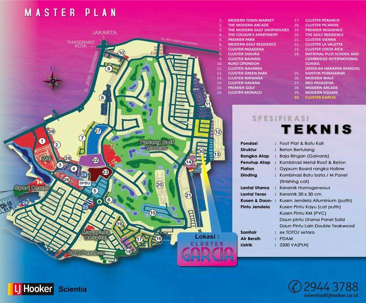 Cluster Garcia @ ModernLand, Tangerang_MASTER PLAN