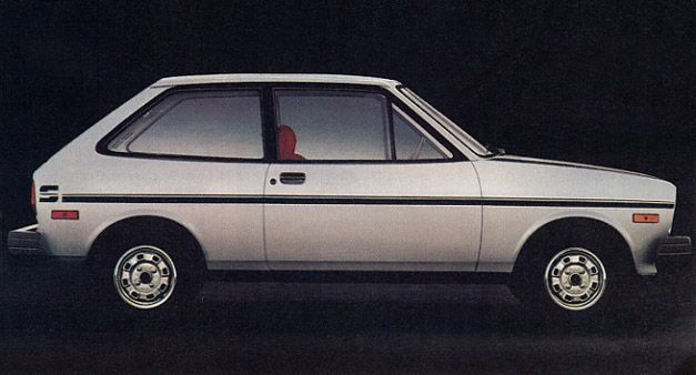 The 1980 Ford Fiesta Sport was advertised as the little front wheel drive car that came from Germany and was voted the most significant import of the year in 1978 by readers of Car & Driver magazine. Rolling of Michelin steel belted radials, it reached 26 mpg in the city and 38 on the highway. The Fiesta was assemble by Ford in Germany.