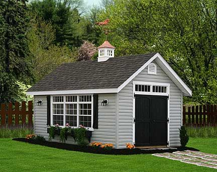 There's a nice looking shed!