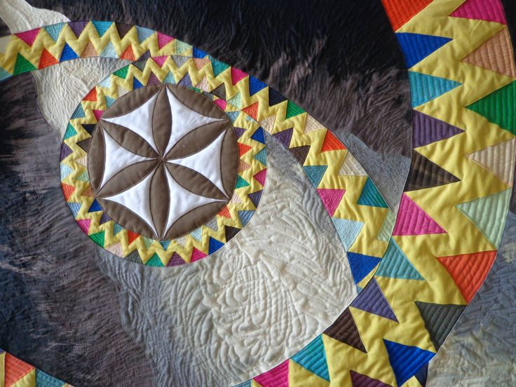 Seed of life, wall Quilt
