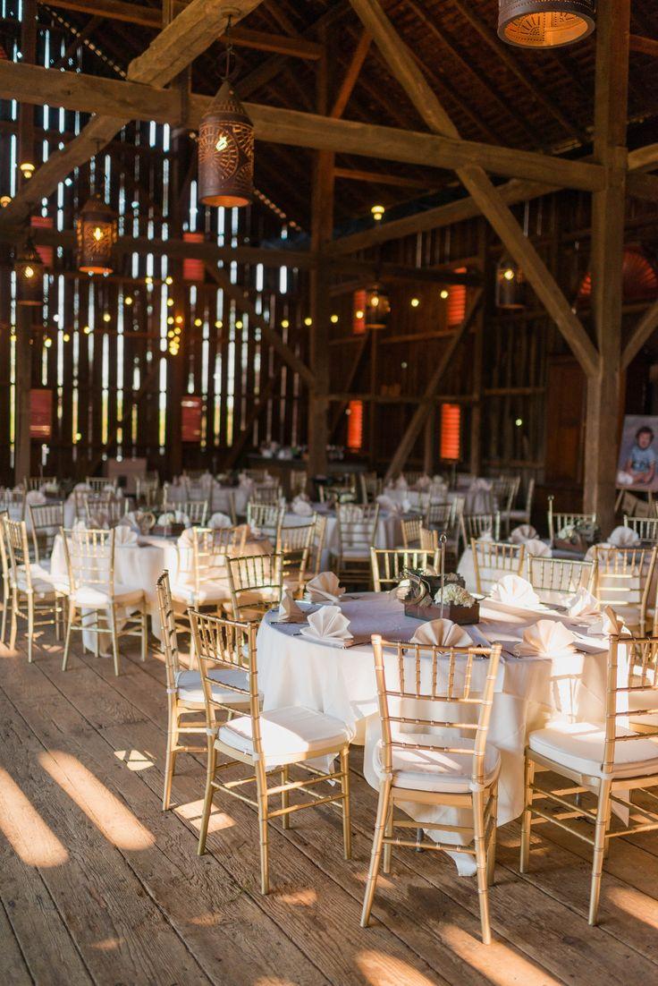 Riverside On The Potomac Leesburg Virginia Barn Wedding Reception