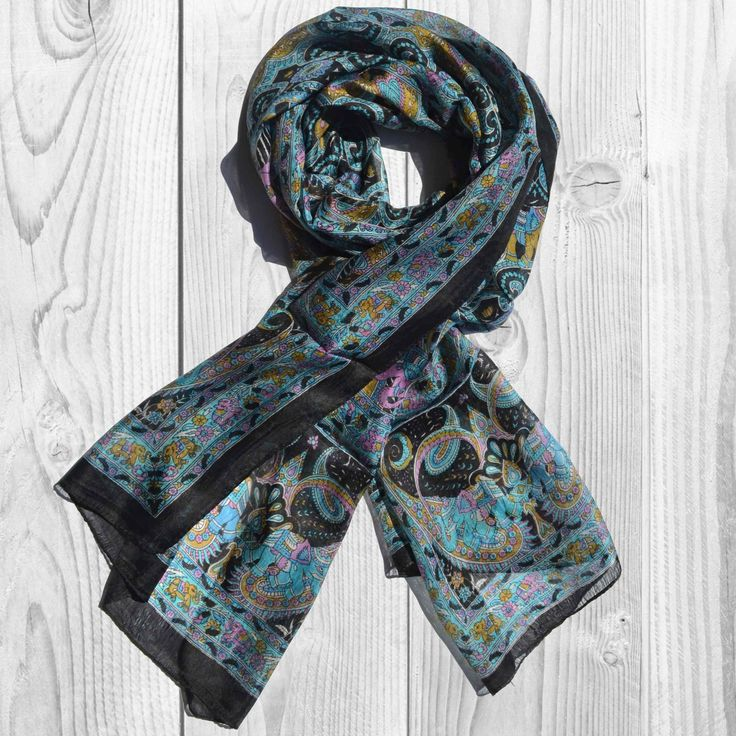 Really Cheap Shoes Online Cashmere Silk Scarf - Henna Flowers Beige by VIDA VIDA Discount Top Quality Buy Cheap Reliable Cheap Sale High Quality mljvG