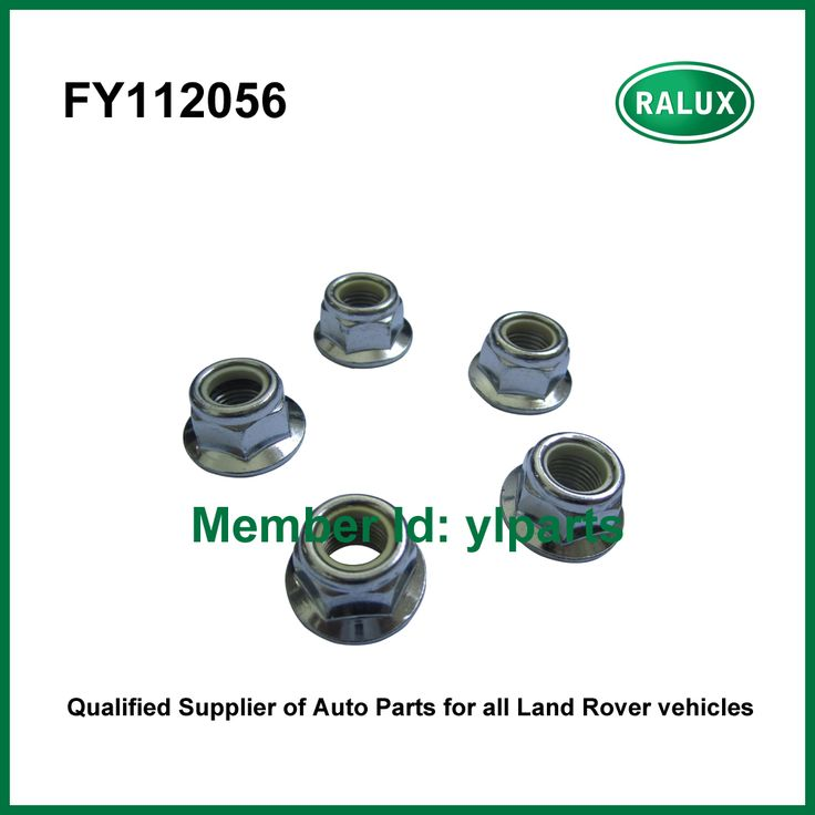 10 Pieces FY112056 auto hex nut M12 for Defender 2007-Discovery 3 4 Range Rover 2013- Range Rover Sport Evoque car nut parts