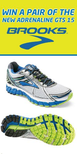 #RePin to #Win a Pair of Brooks Adrenaline #Runners! #competition #shoes